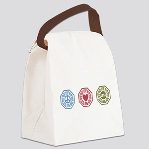 Peace Love Lost [dh_i] Canvas Lunch Bag